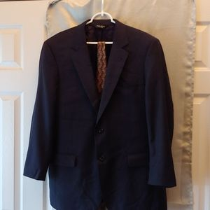 Men's 43R Suit Jacket with Tie